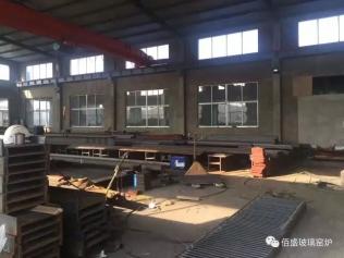 明源絲路(天津)實業有限公司烏茲別克斯坦壓延項目鋼結構完成國內制作準備發運