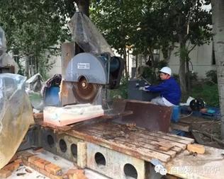 德州晶華集團一窯四線玻璃磚窯爐冷修改造工程開工