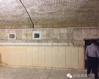 德州晶華藥用玻璃有限公司2#窯爐冷修完成施工并通過驗收