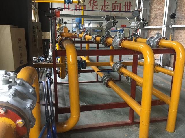天然气燃烧系统