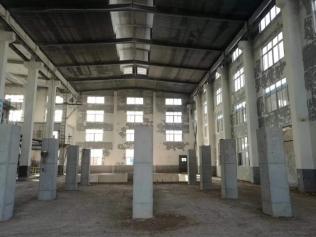 青州卡72平方泡花碱窑炉正式开始施工