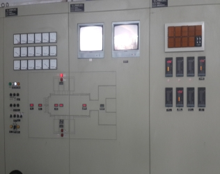 Automatic control system engineering for glass kiln